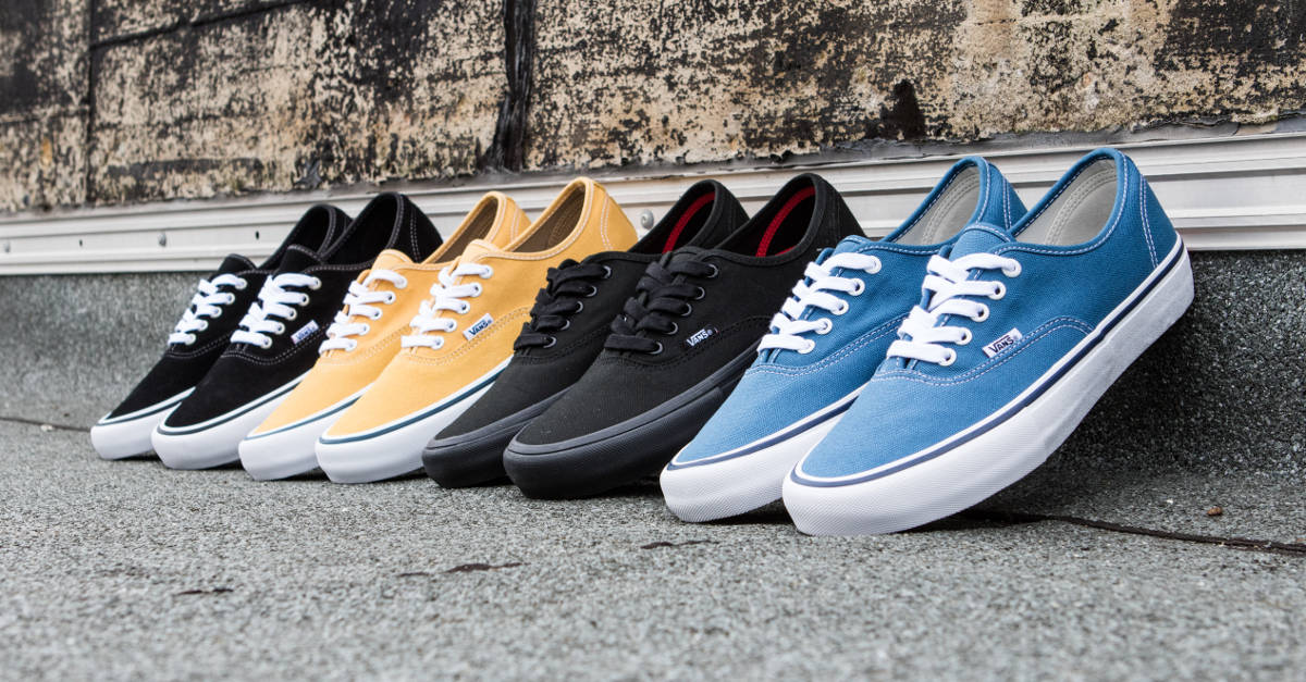 a3035ff756c Shop the Vans Authentic Pro Online skatedeluxe skate shop outlet for sale  36f57 7853e ...