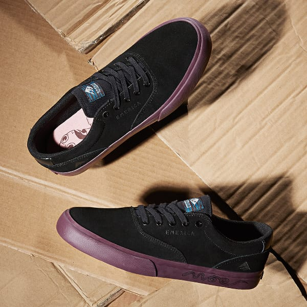 Emerica x Toy Machine Provost Slim Schuh