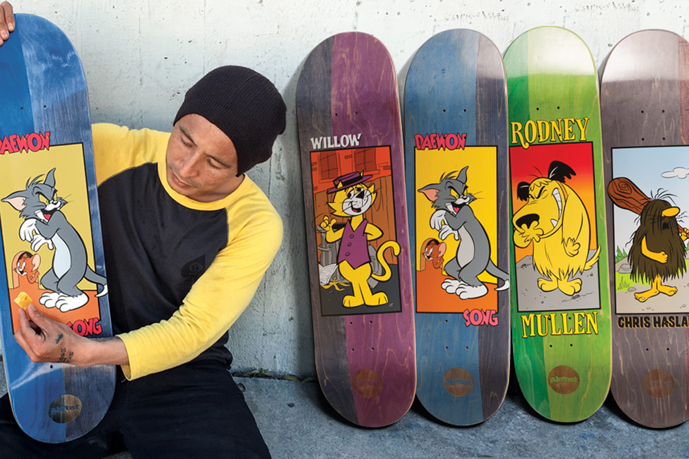 The new Almost X Hanna-Barbera deck series – Back to childhood!