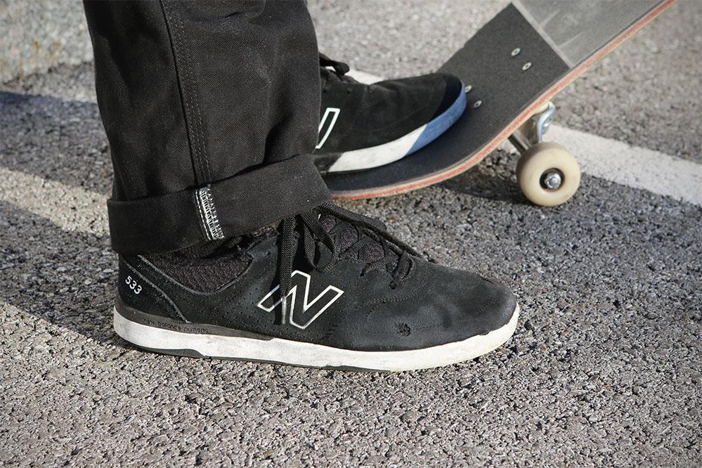Wear Test: New Balance Numeric PJ Stratford 533 Suede Skateschuh