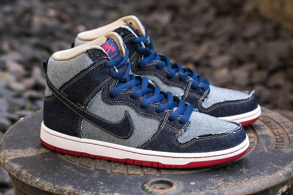 La Nike SB Dunk OG High Reese Forbes Denim QS – Double Denim FTW!