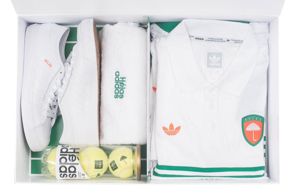 Win the adidas x Hélas collab collection!