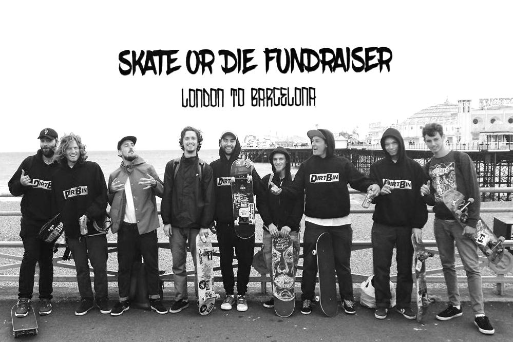 Skate or Die Fundraisers – Sur la route!