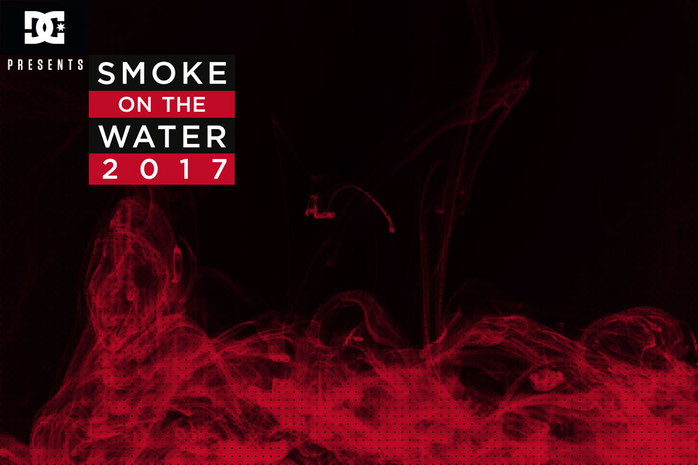 Win a trip to the Smoke On The Water event in Berlin with skatedeluxe & DC!
