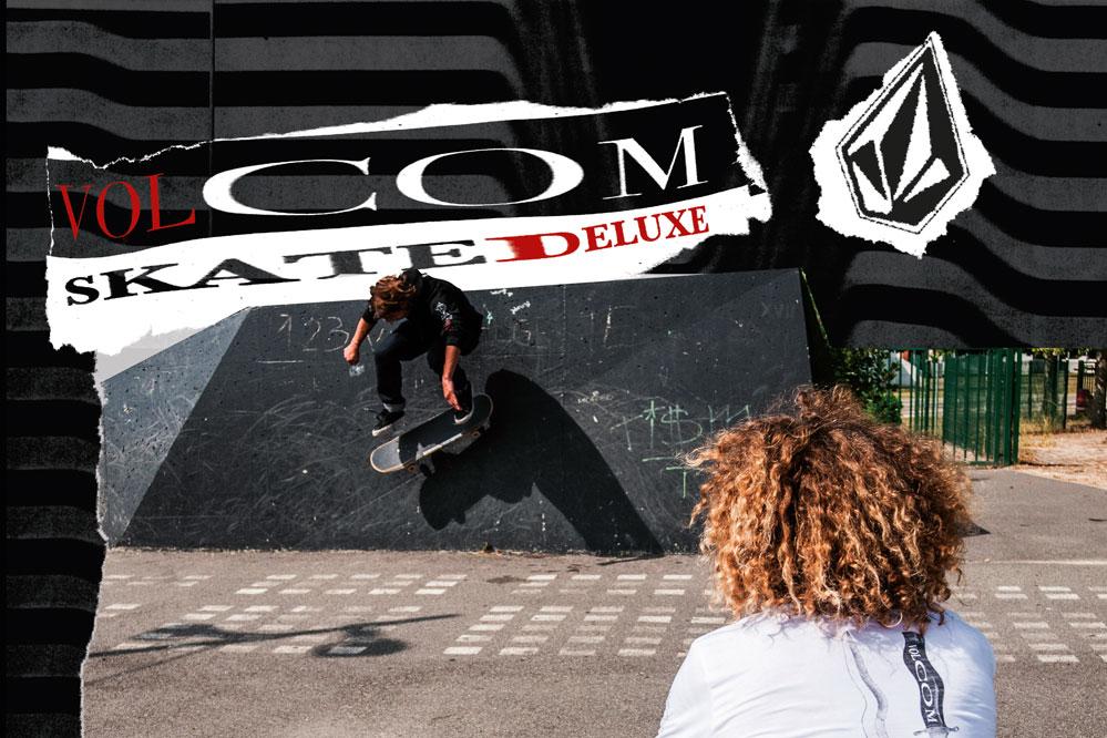 Die skatedeluxe x Volcom Collab feiert die rebellischen 90er!