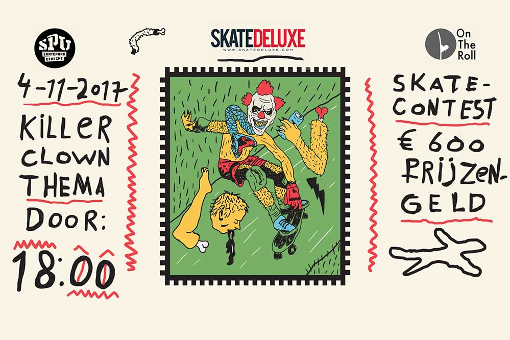 Halloween skate fright presented by skatedeluxe