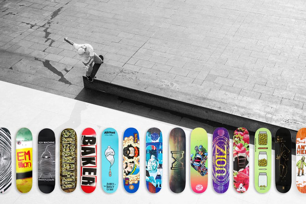 Top 15: Die besten Skateboard Deck Brands 2017
