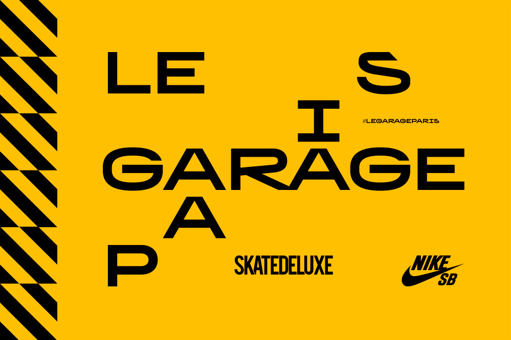 Nike SB & skatedeluxe présentent : Le Garage Paris – Skatepark Indoor & Pop-Up Shop