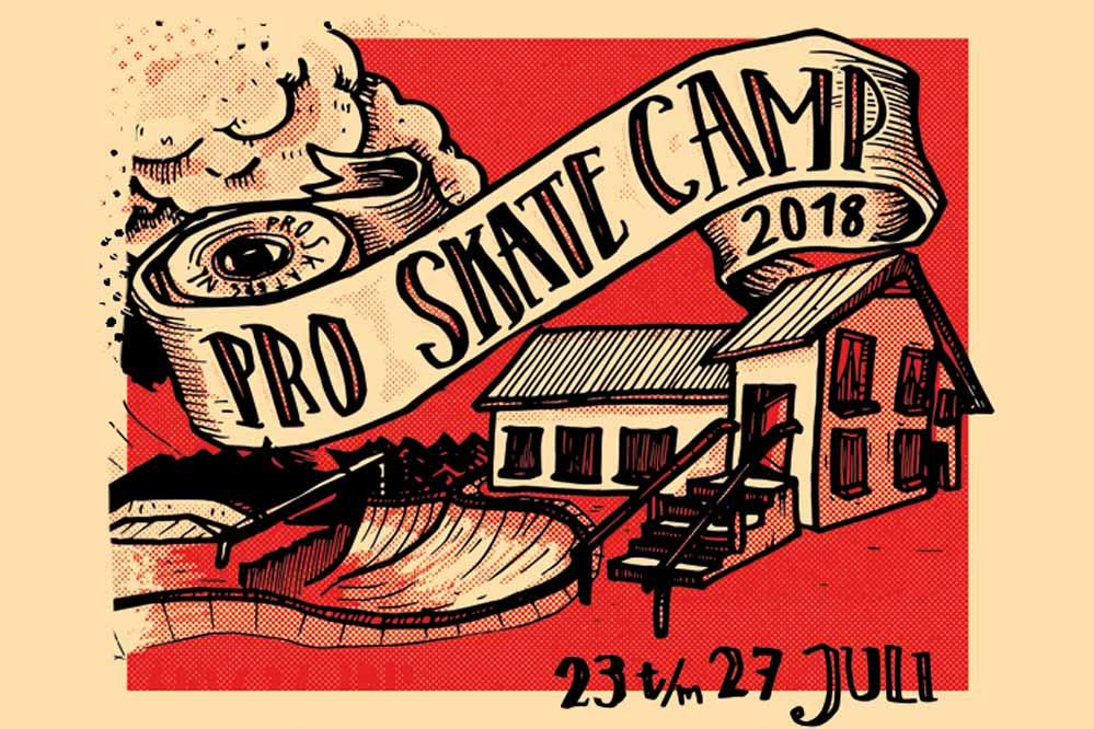 Ga nu mee met het Pro-Skate Camp 2018!