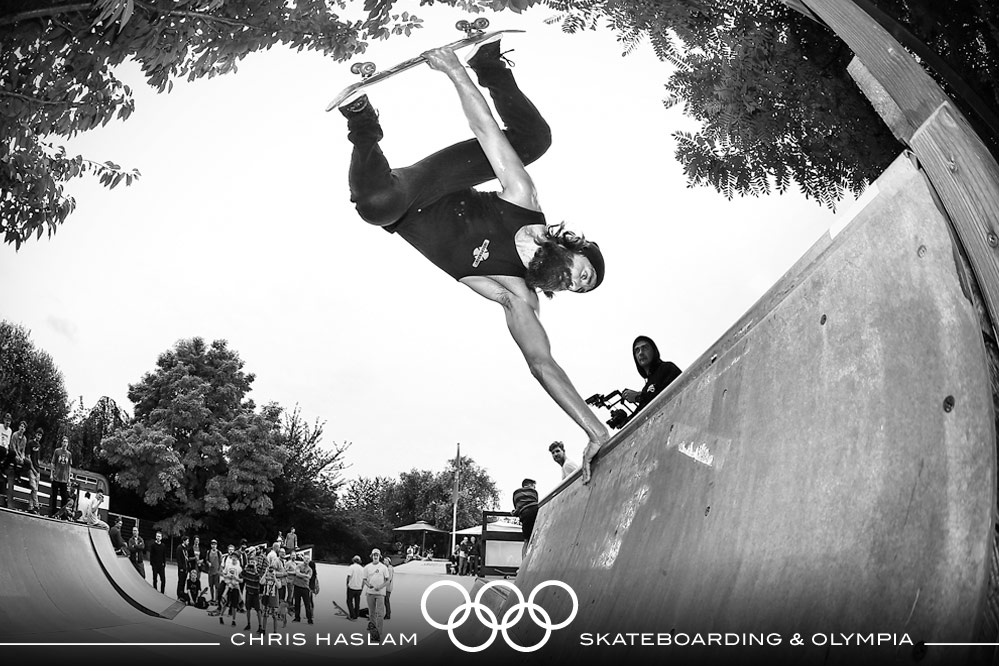 Skateboarding & The Olympics?! | Interview with Chris Haslam