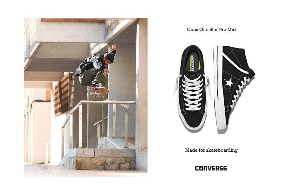 Converse One Star Pro Mid 90`s – Made for skateboarding