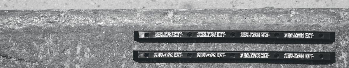 """14/"""" SLIDER PLASTIC WITH SCREWS PIG SKATEBOARDS RED RAILS"""
