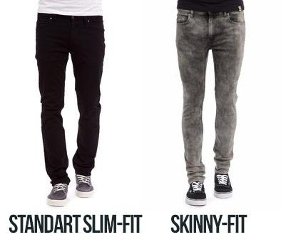 Slim-Fit oder Skinny-Fit Jeans