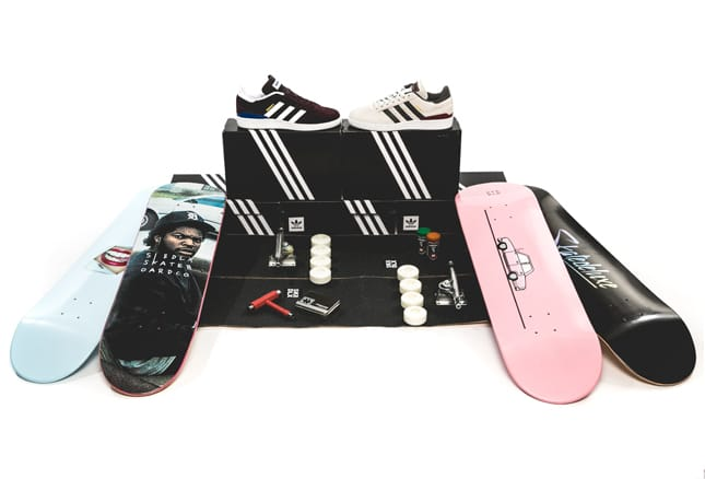 adidas x skatedeluxe big crew package
