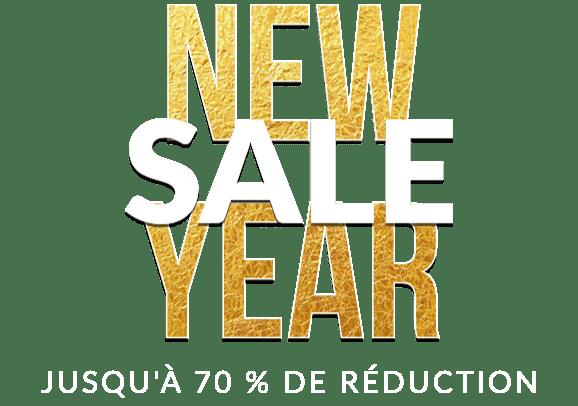 NEW YEAR SALE - Jusqu'à 70 % de réduction