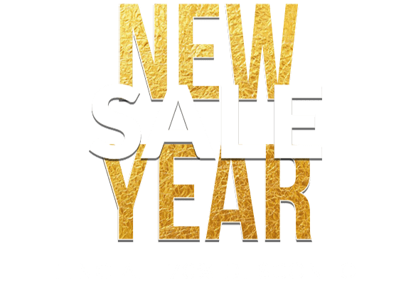 NEW YEAR SALE - Fino al -70% di sconto