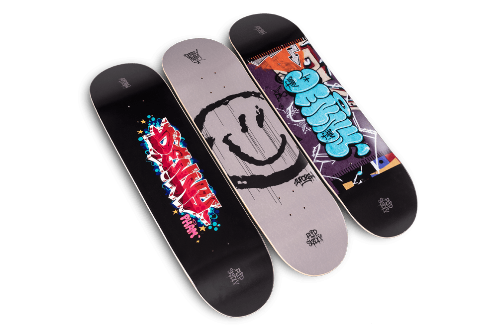 skatedeluxe x Flip Skateboards 1UP collection