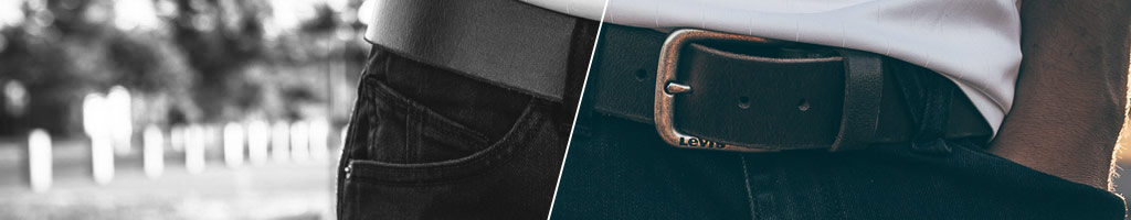Leather Belts, Vegan Belts and Web Belts