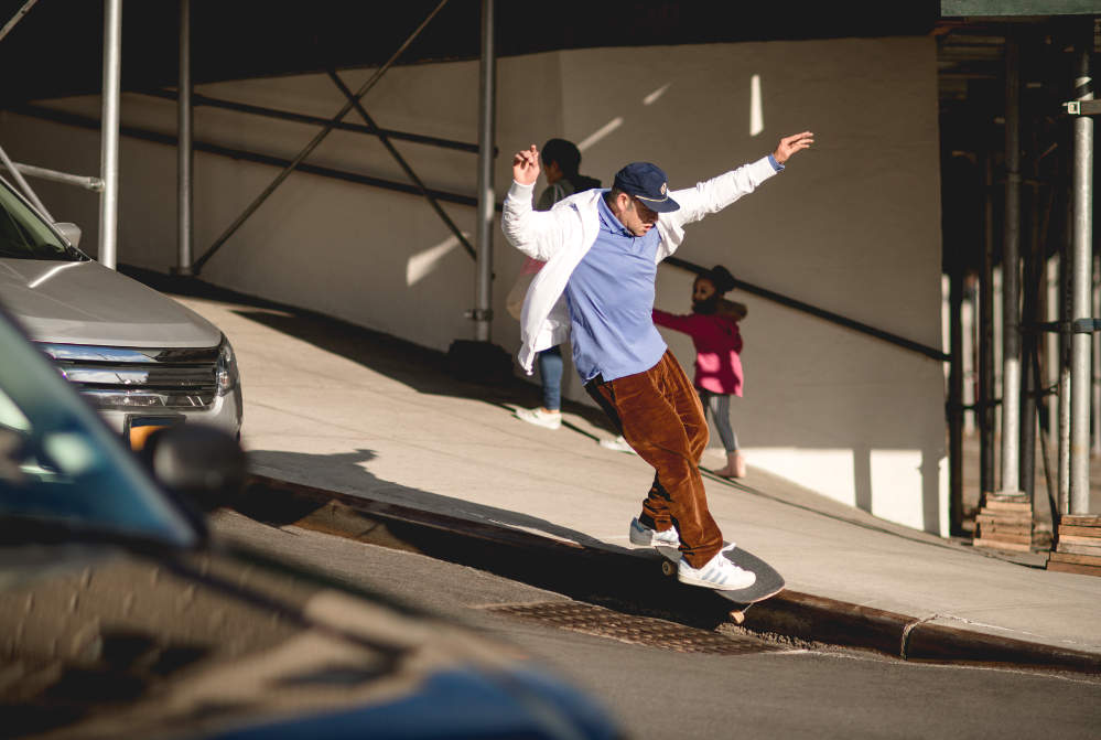 Mark Gonzales Smith Grind