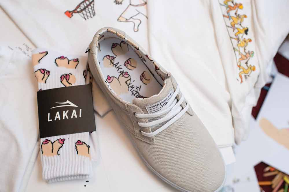 Lakai x Porous Walker Collection