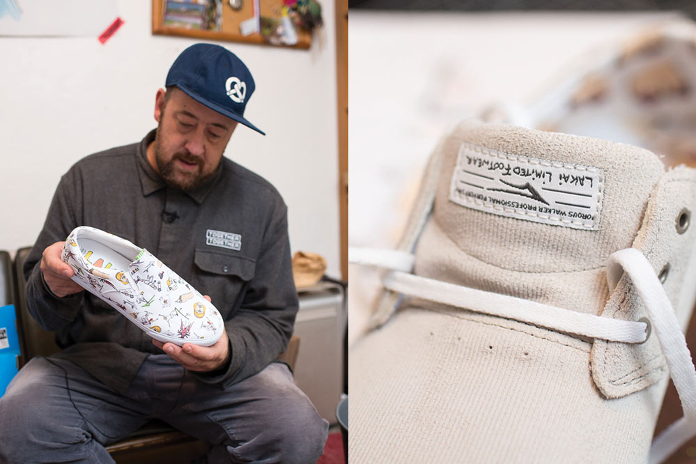 Lakai x Porous Walker Collection Daly