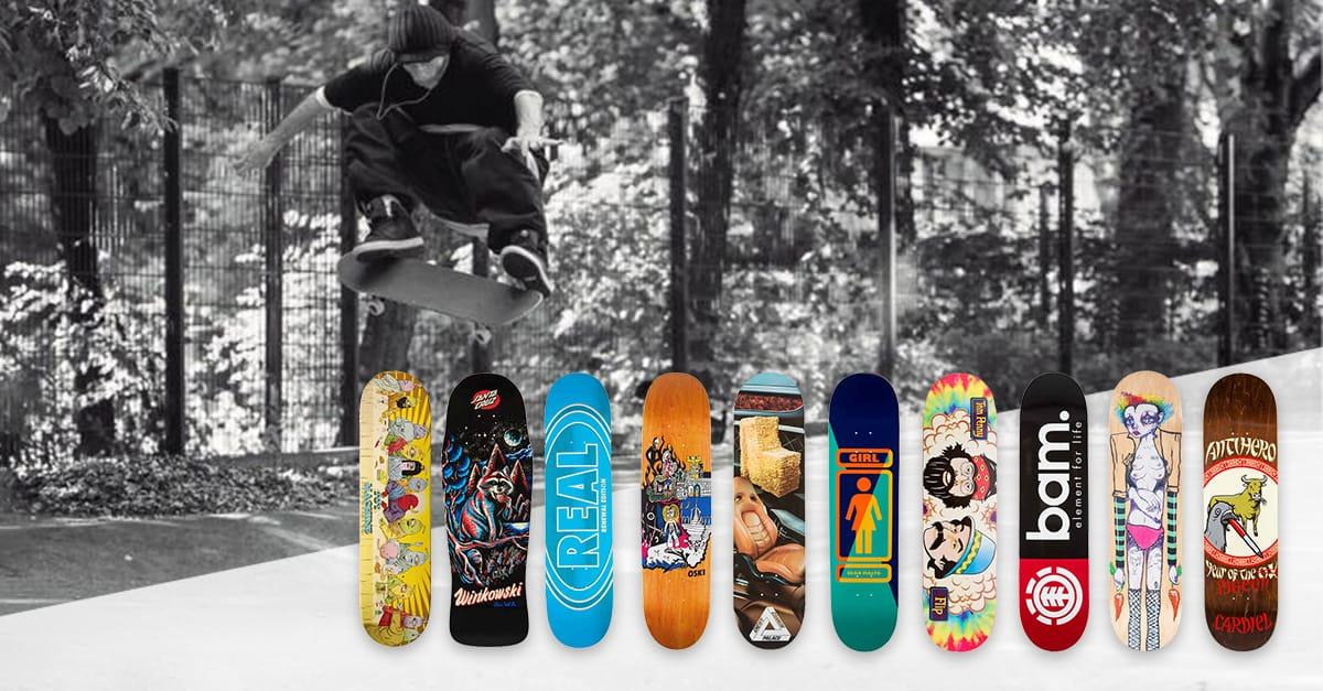 Top 10: The best skateboard deck brands of 2018   skatedeluxe