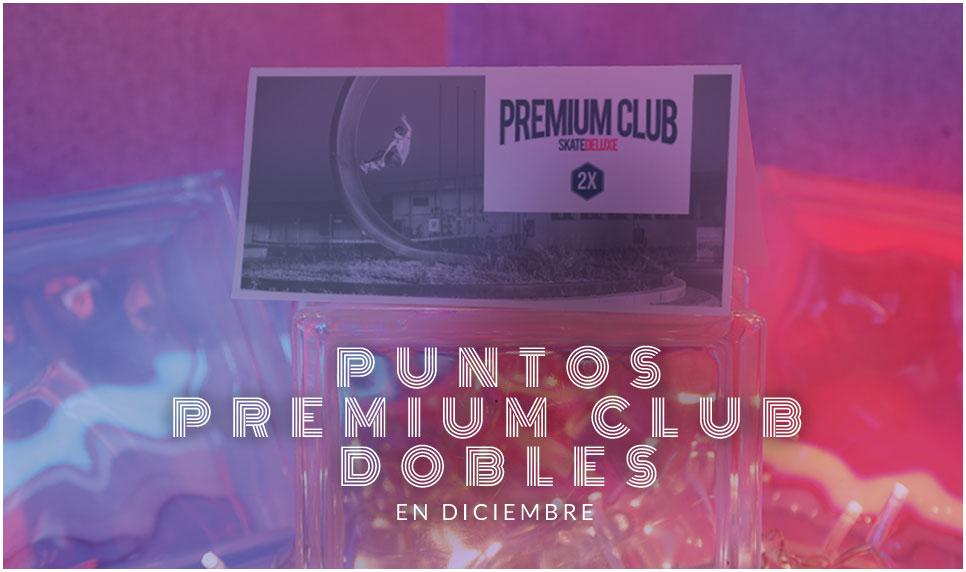 Puntos Premium CLub dobles