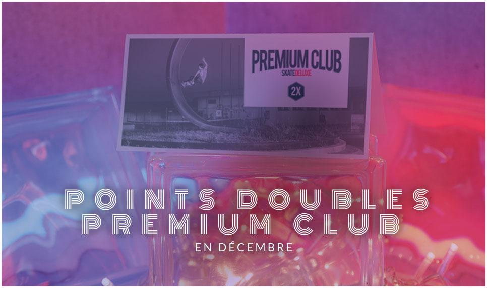 Points Doubles Premium Club