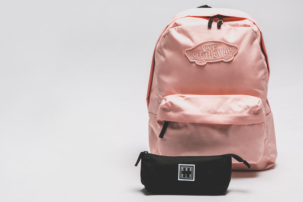 Free pencil case with all backpacks