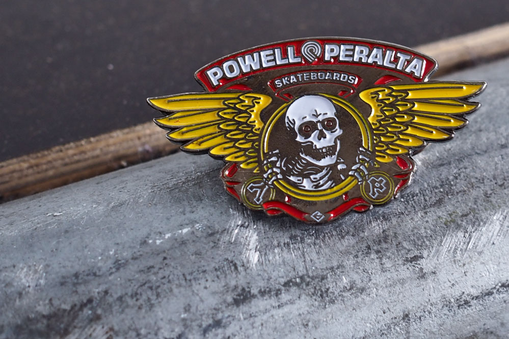 Free Pin with every Powell-Peralta Complete Board
