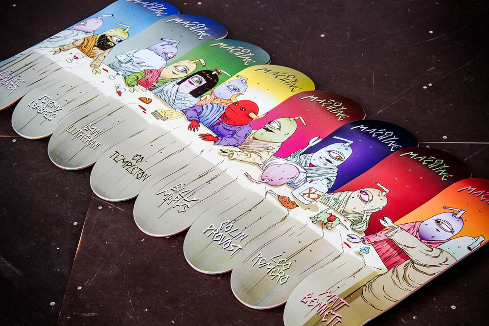 Gratis Skatewachs zu jedem Toy Machine Deck