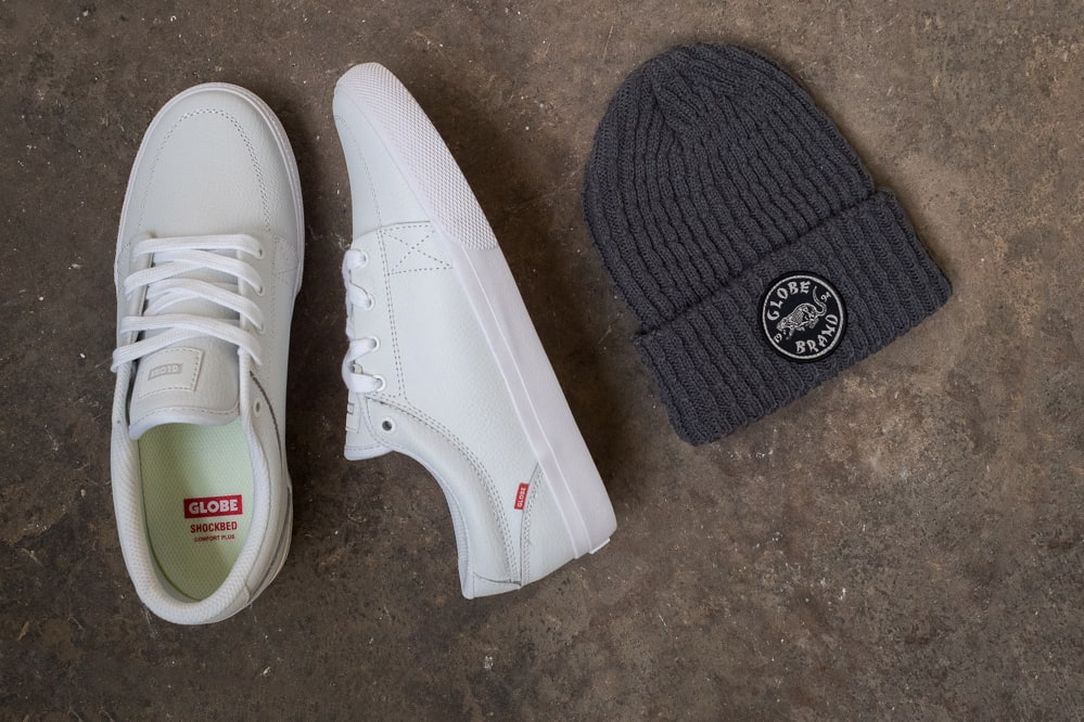 Free Beanie with all Globe shoes