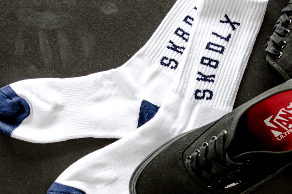 Chaussettes gratuites sk8dlx avec chaque paire de chaussures