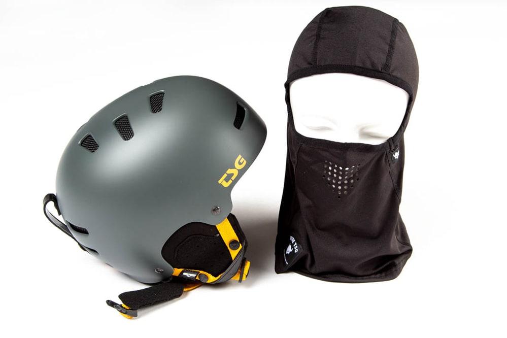 Masque anti-tempête offert avec chaque casque snow TSG