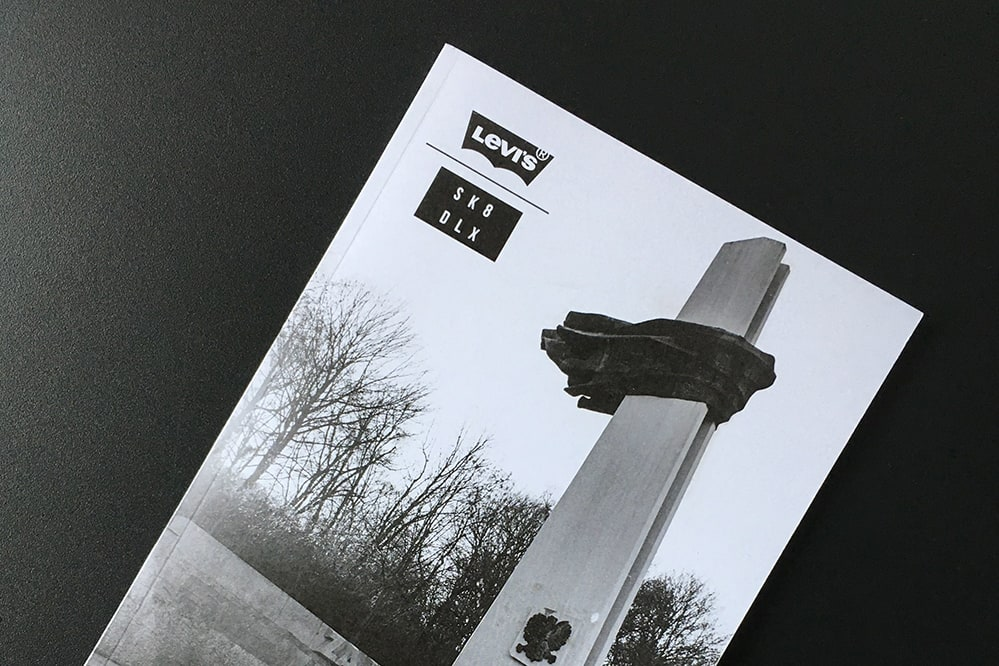 Grey Days Photo Booklet for free with every skatedeluxe x Levi's order
