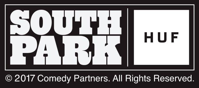 huf x southpark logo
