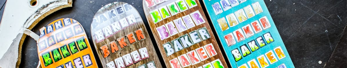 Baker Skateboards shop en ligne