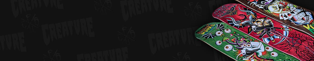 Creature Skateboards shop en ligne
