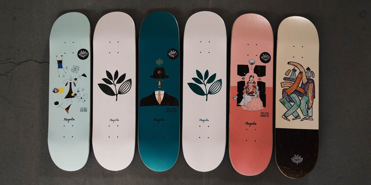 67ea490d42303 Magenta Skateboards Online Shop | skatedeluxe Skateshop