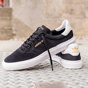 adidas skateboarding 3mc core black white