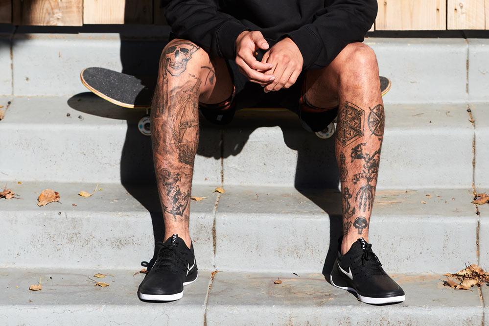 Nike SB Nyjah Free | black white