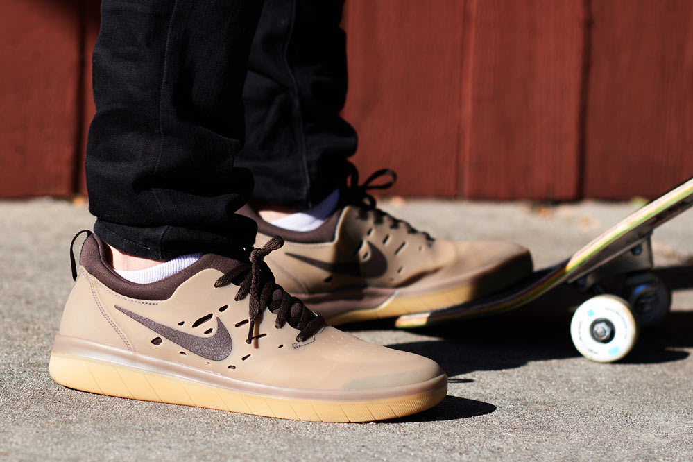 Nike SB Nyjah Free | gum dark brown