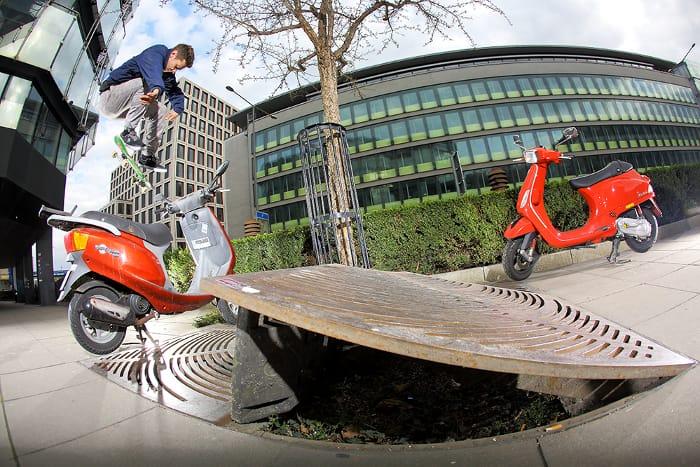 Willow Skate Kickflip Gentsch Stuttgart