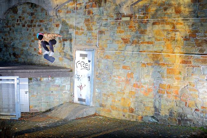 Willow Skate Kickflip Gentsch Wiesbaden