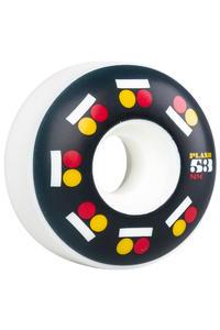Plan B Icon 53mm Wheels 4 Pack