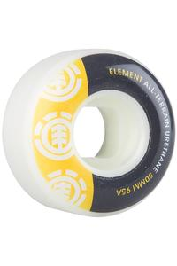 Element Section TW 50mm Rollen (yellow grey) 4er Pack