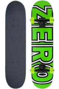 "Zero Bold Mid 7.375"" Complete-Skateboard (neon green)"