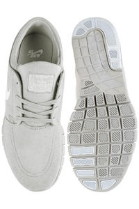 Nike SB Stefan Janoski Max Suede Shoe (matte silver pure platinum)