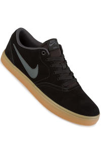 Nike SB Check Solarsoft Shoes (black anthracite gum light brown)