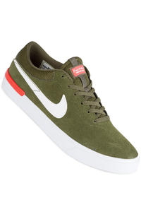 Nike SB Koston Hypervulc Shoe (legion green white max orange)